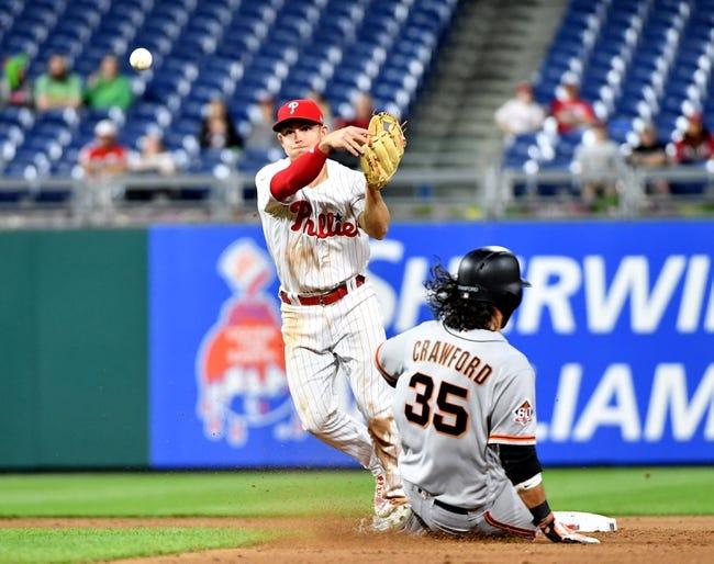 Philadelphia Phillies vs. San Francisco Giants - 5/8/18 MLB Pick, Odds, and Prediction