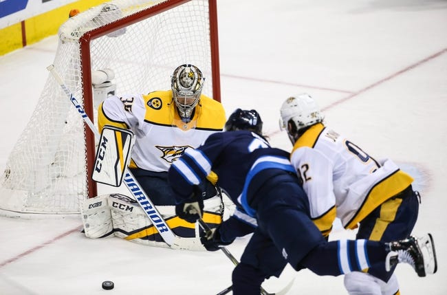 Winnipeg Jets at Nashville Predators - 5/10/18 Game 7 NHL Pick, Odds, and Prediction
