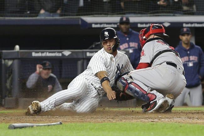 New York Yankees vs. Boston Red Sox - 5/9/18 MLB Pick, Odds, and Prediction