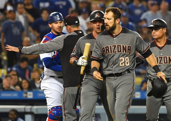 Los Angeles Dodgers vs. Arizona Diamondbacks - 5/9/18 MLB Pick, Odds, and Prediction