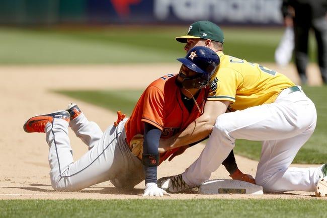 MLB | Houston Astros (42-25) at Oakland Athletics (34-32)