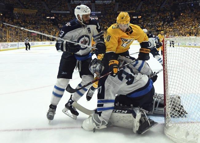 Nashville Predators vs. Winnipeg Jets - 10/11/18 NHL Pick, Odds, and Prediction
