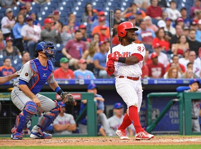 Philadelphia Phillies vs. New York Mets - 5/12/18 MLB Pick, Odds, and Prediction