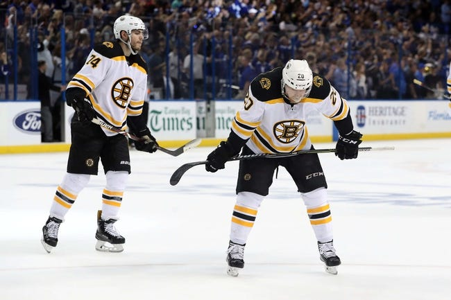 NHL | Boston Bruins (14-9-4) at Tampa Bay Lightning (21-7-1)