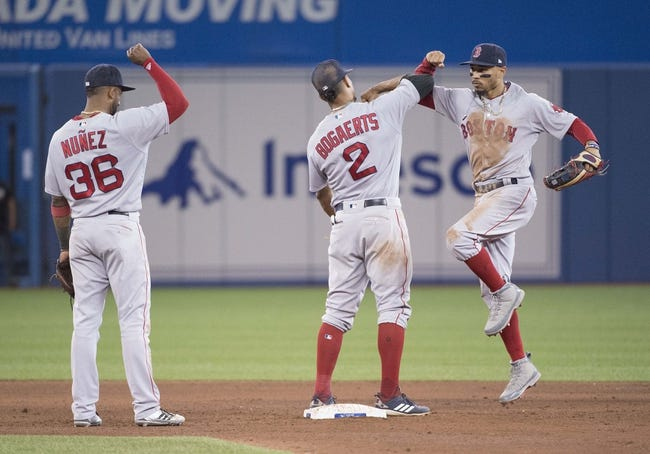 Toronto Blue Jays vs. Boston Red Sox - 5/13/18 MLB Pick, Odds, and Prediction