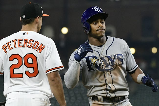 Baltimore Orioles vs. Tampa Bay Rays - 5/13/18 MLB Pick, Odds, and Prediction