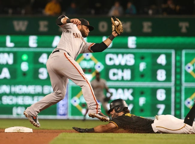 Pittsburgh Pirates vs. San Francisco Giants - 5/13/18 MLB Pick, Odds, and Prediction