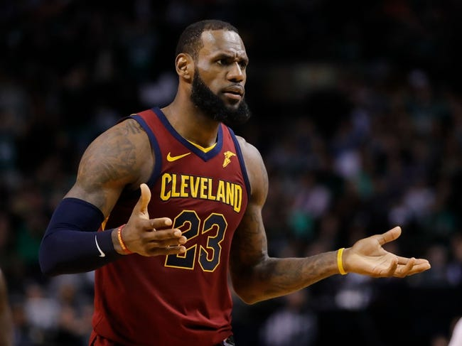 Cleveland Cavaliers at Boston Celtics Game 2 - 5/15/18 NBA Pick, Odds, and Prediction