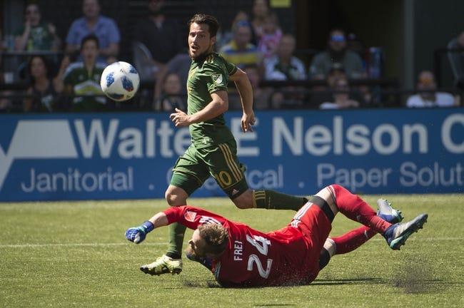 Portland Timbers vs Los Angeles FC 5/19/18: MLS Soccer Pick, Odds, and Predictions