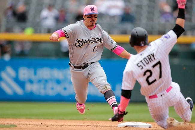 MLB | Colorado Rockies (58-50) at Milwaukee Brewers (63-48)