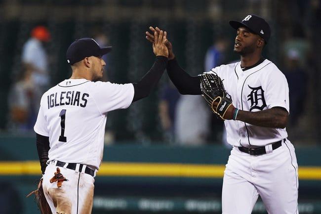 MLB | Cleveland Indians (20-20) at Detroit Tigers (18-22)