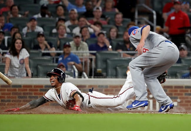 MLB | Chicago Cubs (21-17) at Atlanta Braves (25-15)