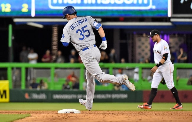 Miami Marlins vs. Los Angeles Dodgers - 5/16/18 MLB Pick, Odds, and Prediction