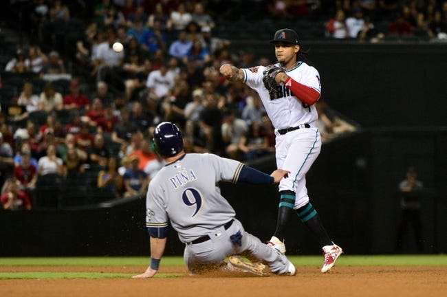 Arizona Diamondbacks vs. Milwaukee Brewers - 5/16/18 MLB Pick, Odds, and Prediction