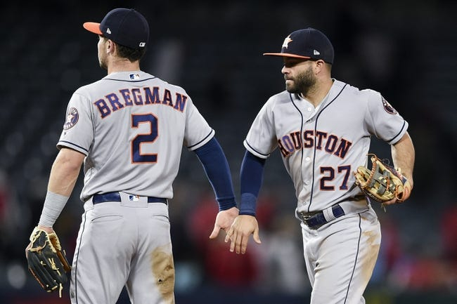 Los Angeles Angels vs. Houston Astros - 5/16/18 MLB Pick, Odds, and Prediction