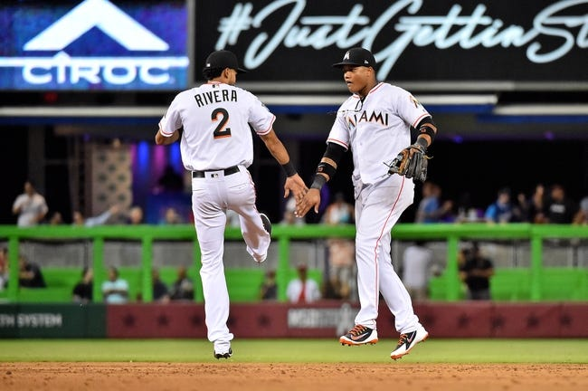 MLB | Los Angeles Dodgers (16-25) at Miami Marlins (15-26)