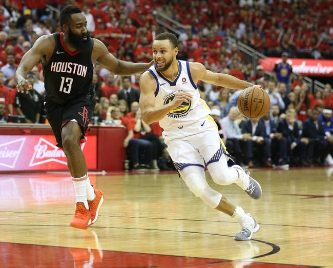 Houston Rockets at Golden State Warriors - Game 3 - 5/20/18 NBA Pick, Odds, and Prediction