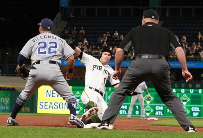 Pittsburgh Pirates vs. San Diego Padres - 5/18/18 MLB Pick, Odds, and Prediction