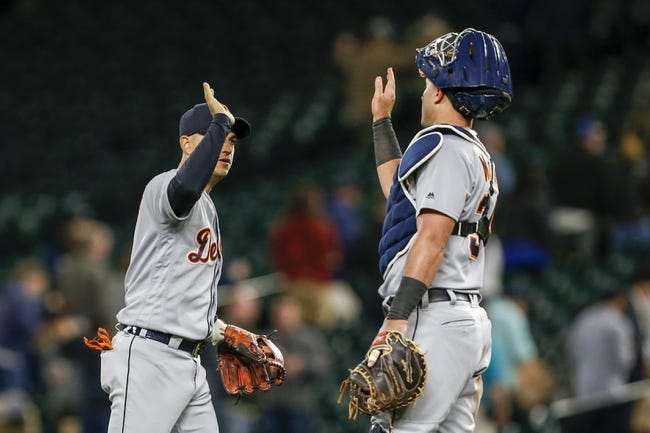 MLB | Detroit Tigers (20-23) at Seattle Mariners (24-19)