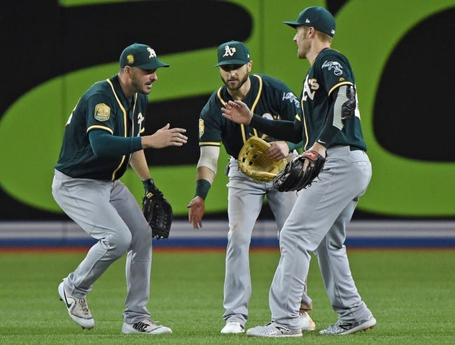 Toronto Blue Jays vs. Oakland Athletics - 5/19/18 MLB Pick, Odds, and Prediction