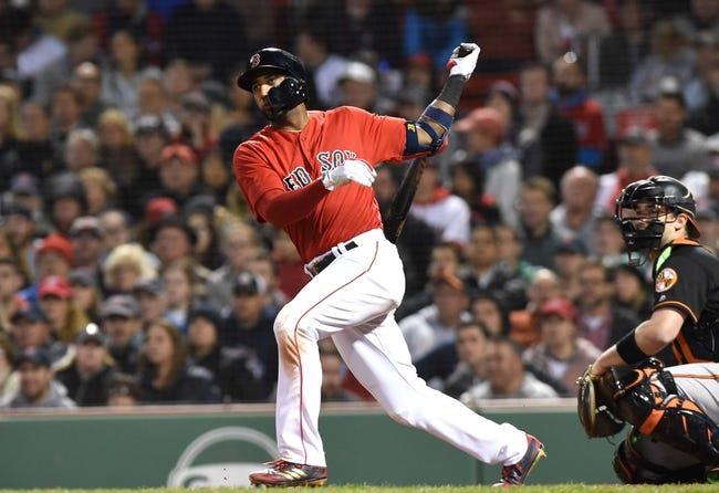 Boston Red Sox vs. Baltimore Orioles - 5/19/18 MLB Pick, Odds, and Prediction