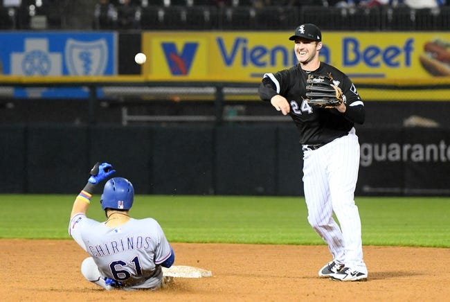 MLB | Texas Rangers (17-28) at Chicago White Sox (11-29)