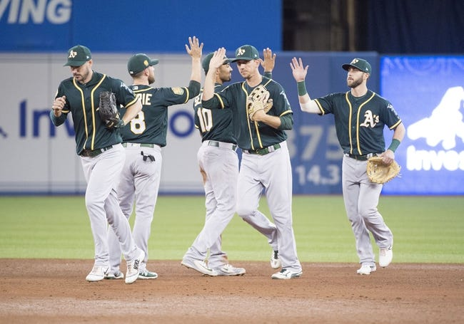 Toronto Blue Jays vs. Oakland Athletics - 5/20/18 MLB Pick, Odds, and Prediction
