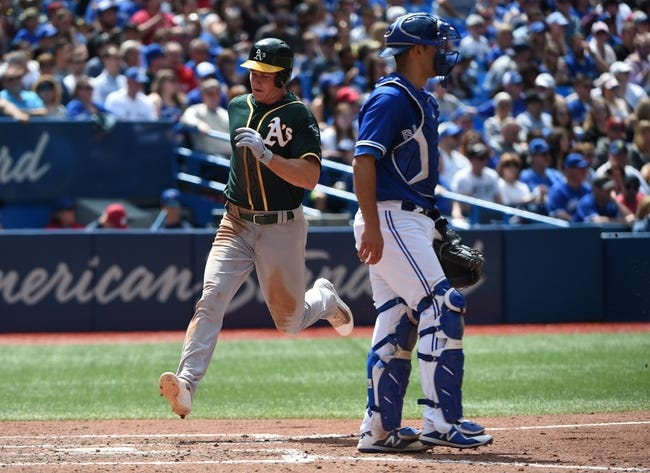 Oakland Athletics vs. Toronto Blue Jays - 7/30/18 MLB Pick, Odds, and Prediction