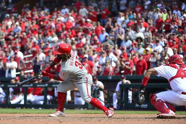 Philadelphia Phillies vs. St. Louis Cardinals - 6/19/18 MLB Pick, Odds, and Prediction