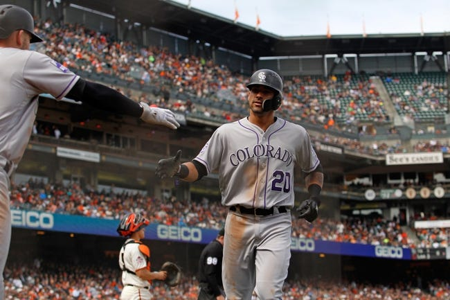 Colorado Rockies vs. San Francisco Giants - 5/28/18 MLB Pick, Odds, and Prediction