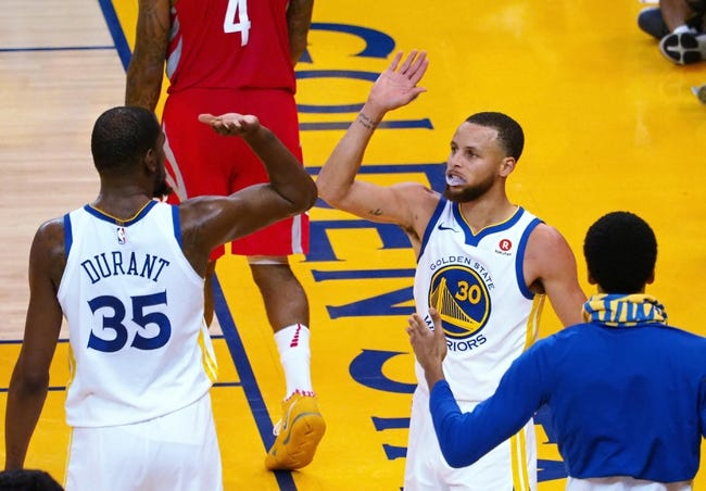 Golden State Warriors vs. Houston Rockets - 5/22/18 NBA Pick, Odds, and Prediction