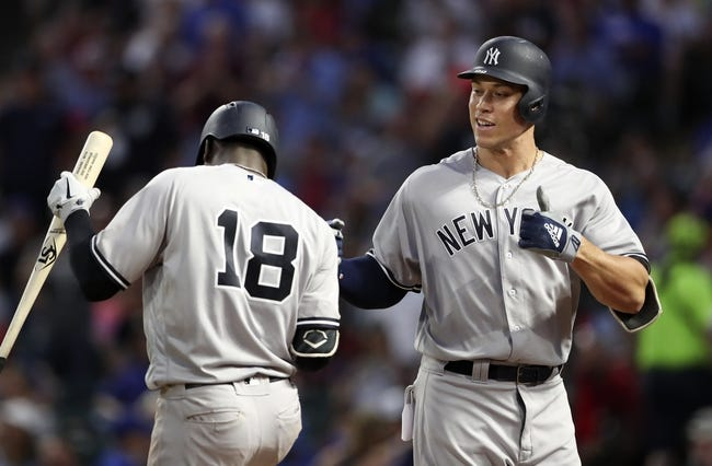 Texas Rangers vs. New York Yankees - 5/22/18 MLB Pick, Odds, and Prediction