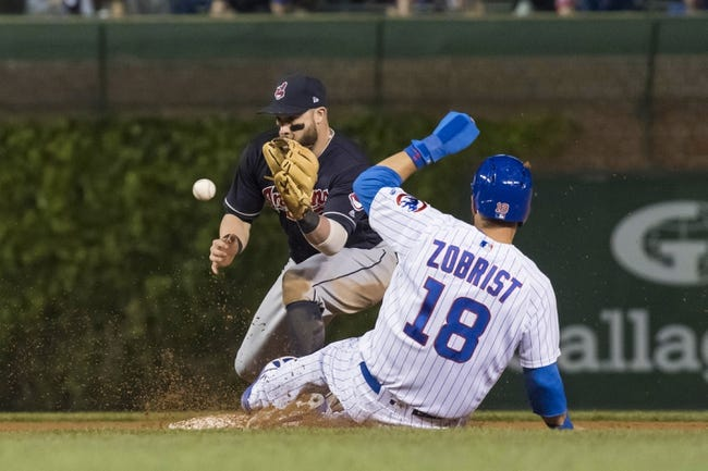 MLB | Cleveland Indians (22-23) at Chicago Cubs (25-19)
