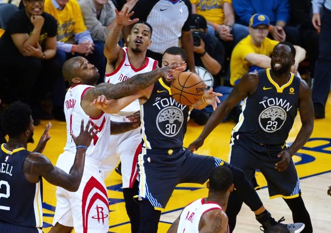 Houston Rockets vs. Golden State Warriors - 5/24/18 NBA Pick, Odds, and Prediction