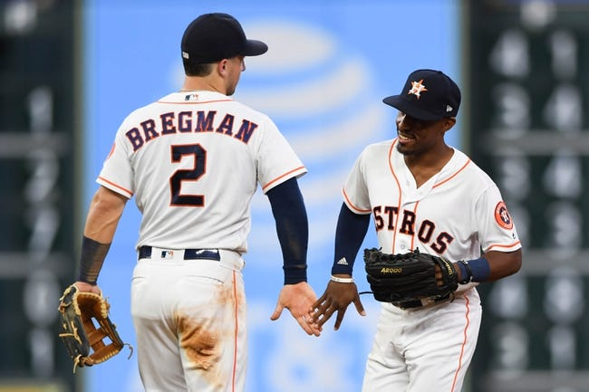 Houston Astros vs. San Francisco Giants - 5/23/18 MLB Pick, Odds, and Prediction
