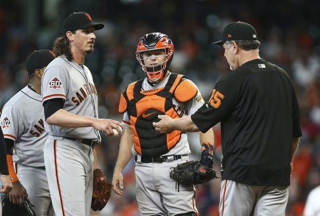 San Francisco Giants vs. Houston Astros - 8/6/18 MLB Pick, Odds, and Prediction
