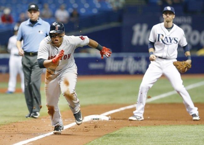 Tampa Bay Rays vs. Boston Red Sox - 5/24/18 MLB Pick, Odds, and Prediction