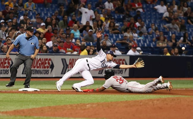 Boston Red Sox vs. Tampa Bay Rays - 8/17/18 MLB Pick, Odds, and Prediction