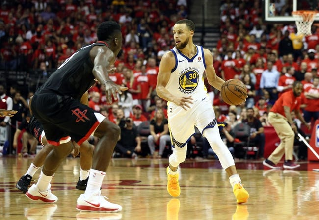 Golden State Warriors vs. Houston Rockets - 5/26/18 NBA Pick, Odds, and Prediction
