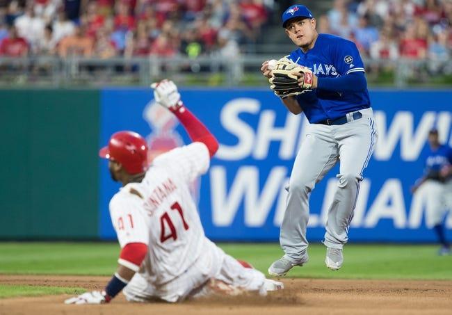 Philadelphia Phillies vs. Toronto Blue Jays - 5/26/18 MLB Pick, Odds, and Prediction