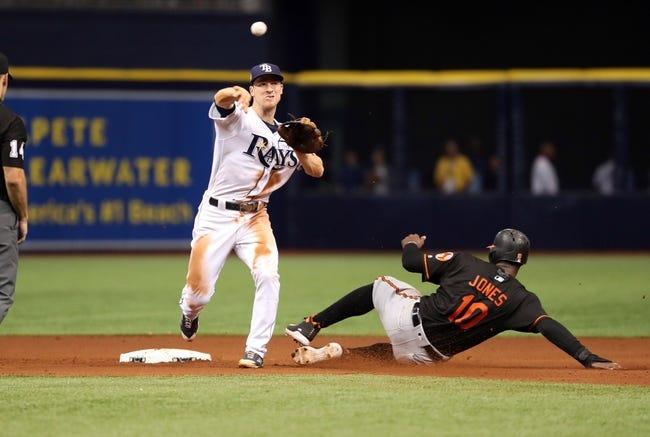 Tampa Bay Rays vs. Baltimore Orioles - 5/26/18 MLB Pick, Odds, and Prediction