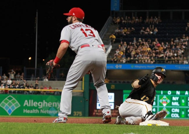 Pittsburgh Pirates vs. St. Louis Cardinals - 5/26/18 MLB Pick, Odds, and Prediction