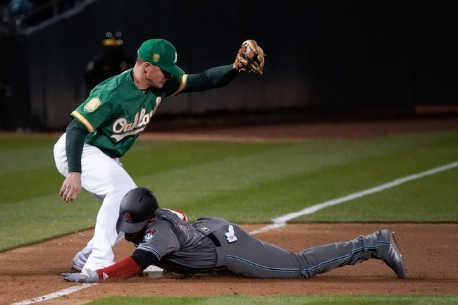 Oakland Athletics vs. Arizona Diamondbacks - 5/26/18 MLB Pick, Odds, and Prediction