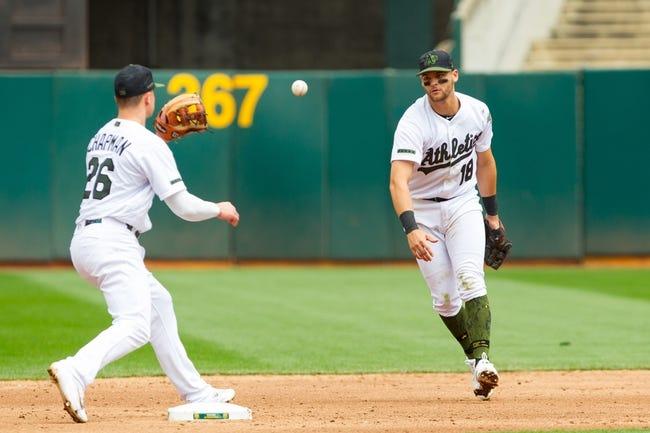 Oakland Athletics vs. Arizona Diamondbacks - 5/27/18 MLB Pick, Odds, and Prediction
