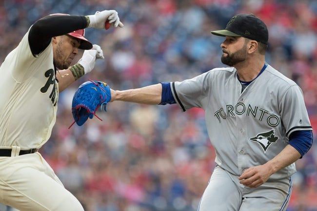 MLB | Toronto Blue Jays (24-28) at Philadelphia Phillies (29-20)