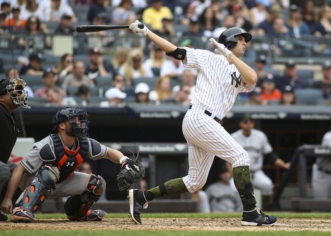 New York Yankees vs. Houston Astros - 5/29/18 MLB Pick, Odds, and Prediction