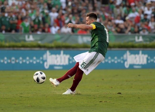 Mexico vs. Denmark - 6/9/18 International Friendly Soccer Pick, Odds, and Prediction