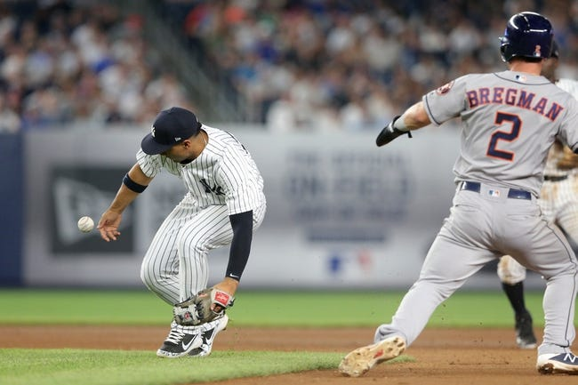 MLB | Houston Astros (35-20) at New York Yankees (33-17)