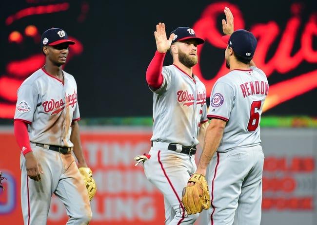 Baltimore Orioles vs. Washington Nationals - 5/30/18 MLB Pick, Odds, and Prediction