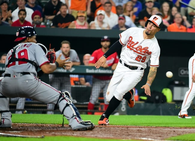 Washington Nationals vs. Baltimore Orioles - 6/19/18 MLB Pick, Odds, and Prediction